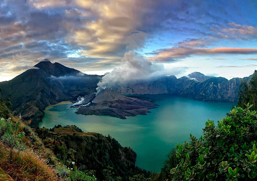 mount rinjani trekking package information